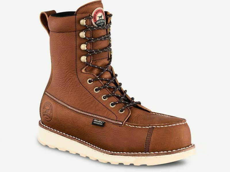 red wing irish setter boots review